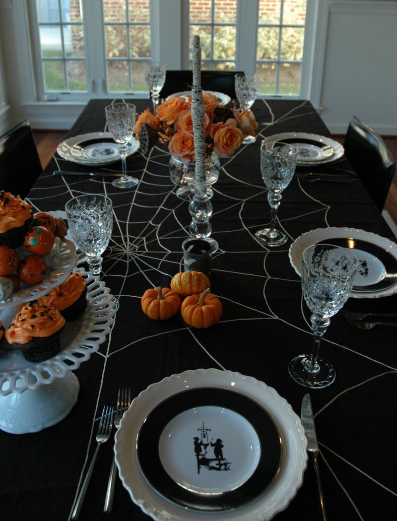 halloween decoration spiderweb