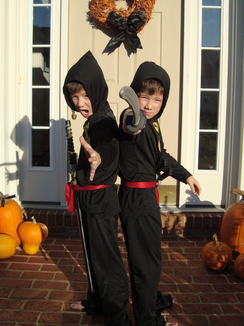 Halloween Ninjas