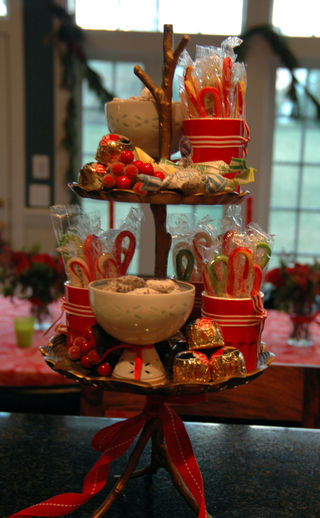 Christmas Treat Tower