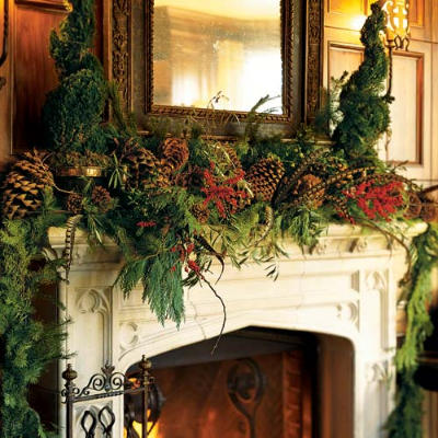 Holiday-flowers-fireplace-l
