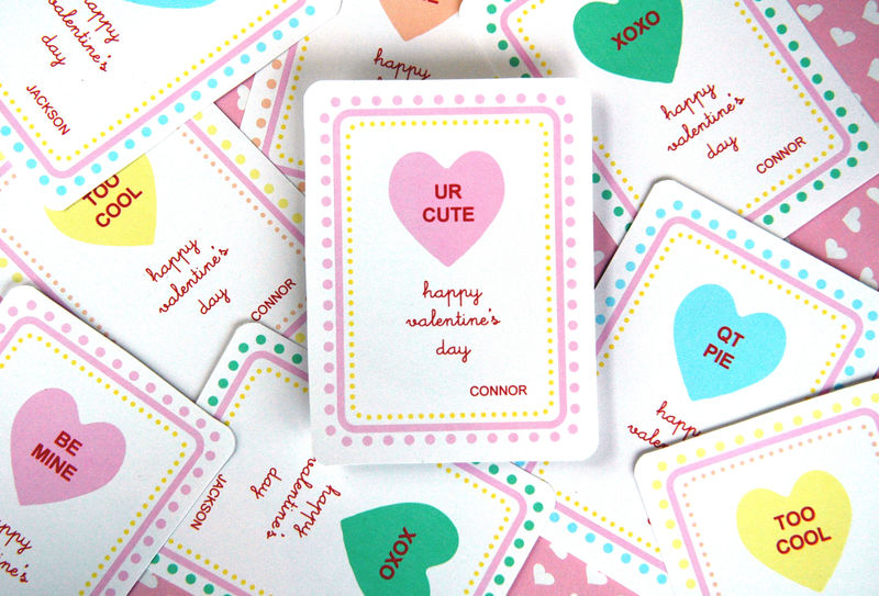 Simple Valentine Cards For Kids One Good Thing by Jillee – Great Valentine Cards