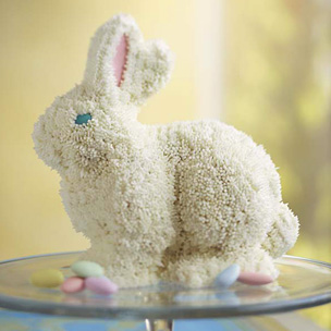 Frosted Bunny Cake