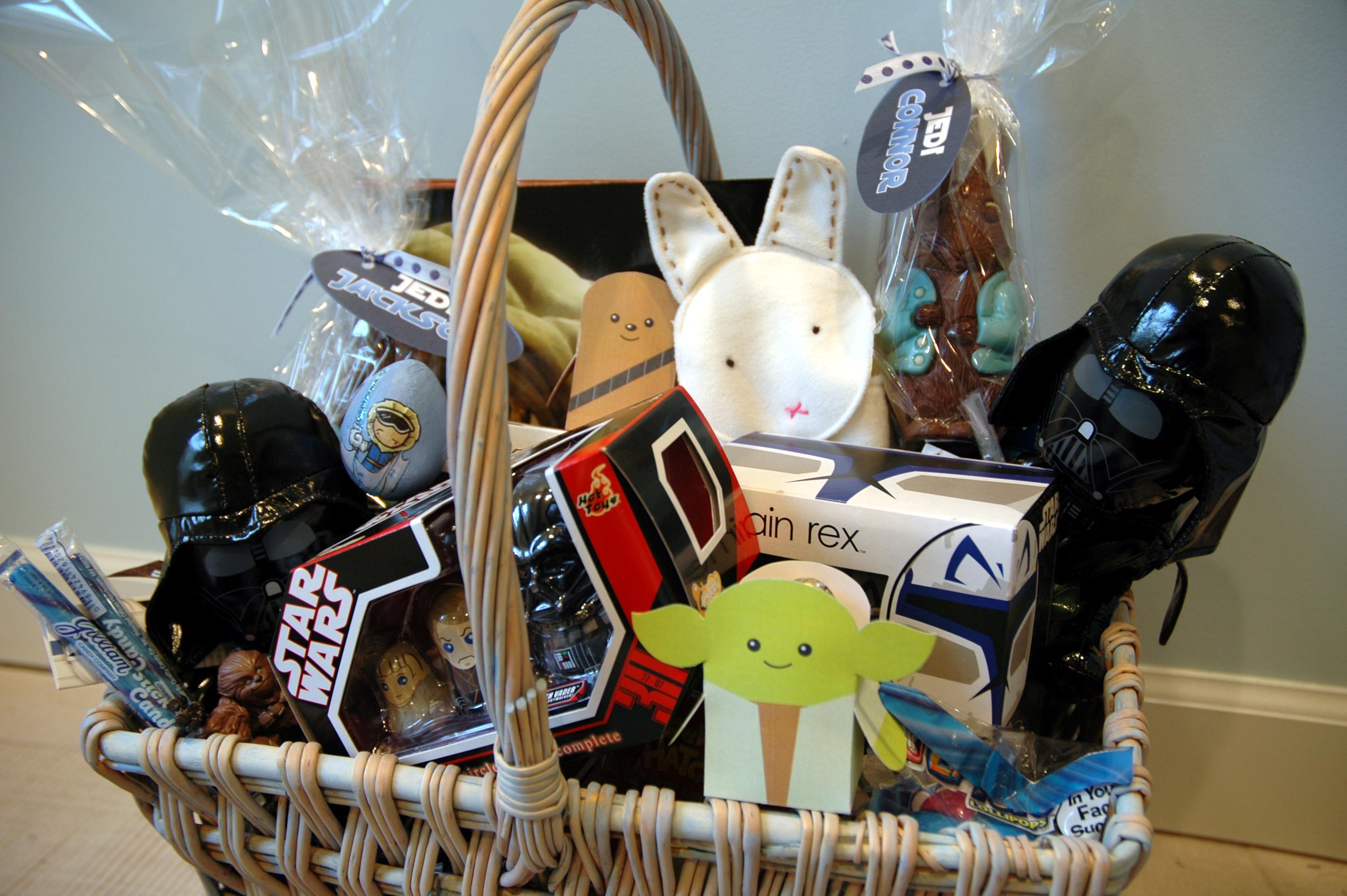 Star Wars Easter Basket Bunny Cakes
