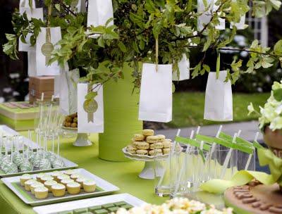 Amy Atlas Hamptons Dessert Buffet