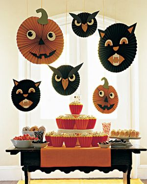 Martha Stewart Halloween Buffet