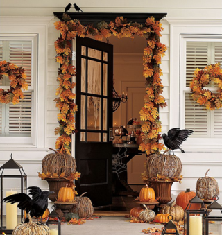 Pottery Barn Halloween Home Decor