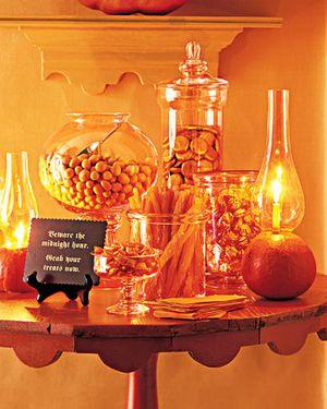 Martha Stewart Halloween Buffet