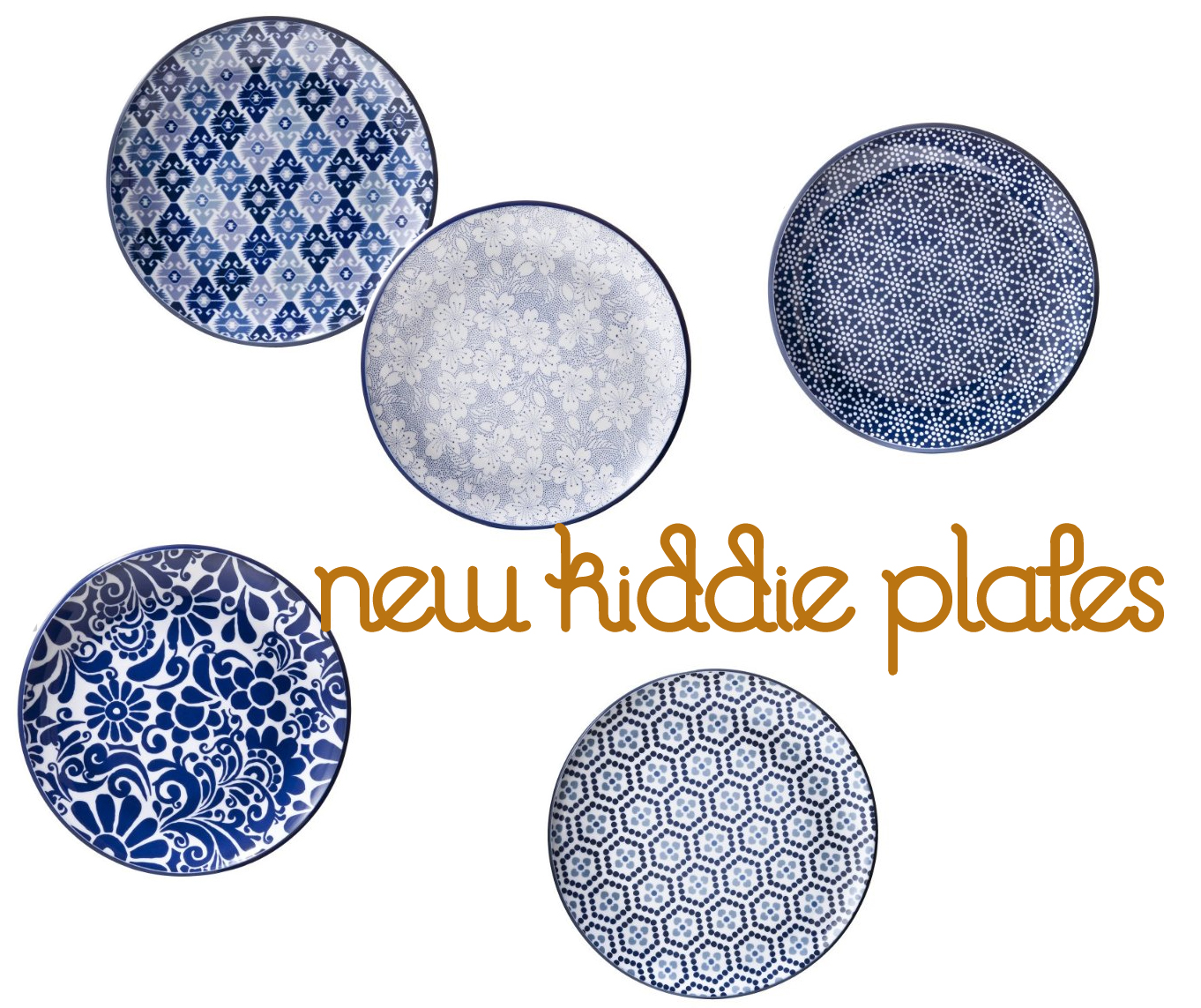 Blue And White Plates blue + white plates for the boys - bunny cakes