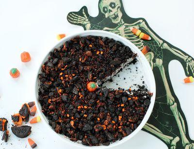 Halloween Oreo Cream Pie - So Easy Its Scary   BunnyCakes
