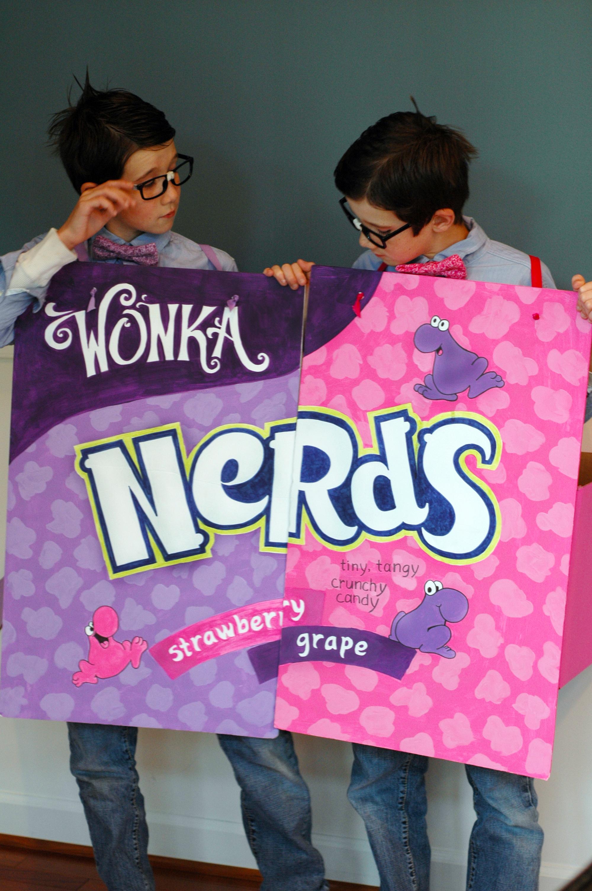 Halloween Nerds Candy.Nerd Alert Bunny Cakes