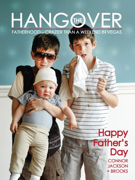 Father's Day Hangover Movie Poster