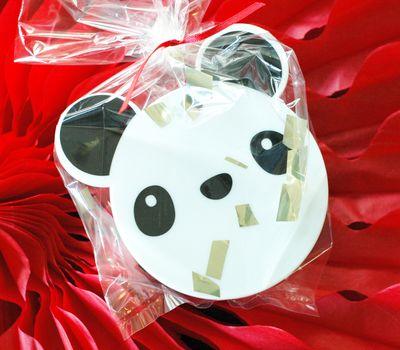 Panda Snack Container Favor - BunnyCakes