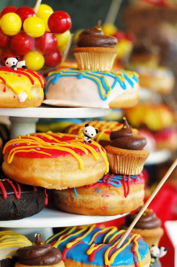 Panda + Donut Party - BunnyCakes Blog