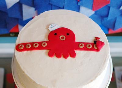 Octosquid Cake -- BunnyCakes