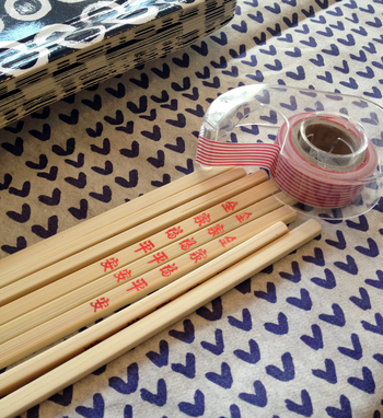 Washi Tape & Chopsticks -- BunnyCakes