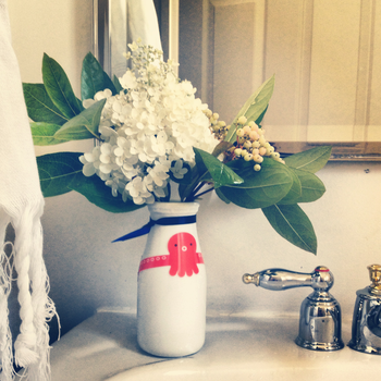 Flowers for the Powder Room -- BunnyCakes