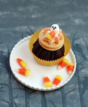 Halloween Brownie Cookie Treat - BunnyCakes