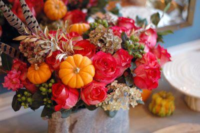 Thanksgiving Centerpiece // BunnyCakes