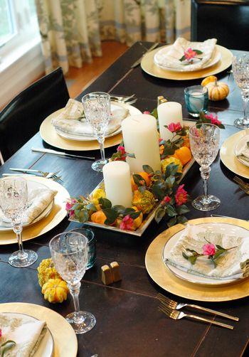Our Fresh Thanksgiving Table // BunnyCakes