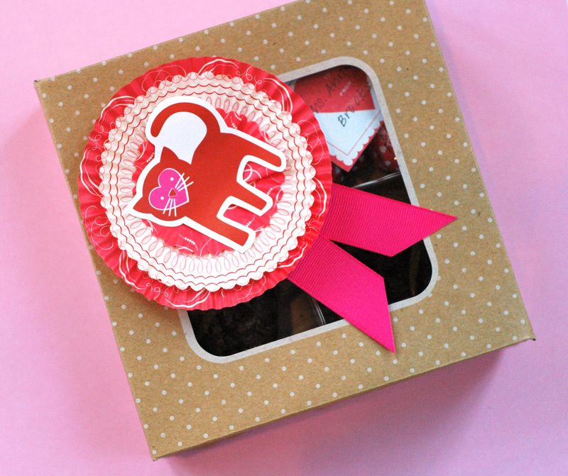 The Ulitmate Dessert & Valentine's Day Treat--Heart Brownies // BunnyCakes