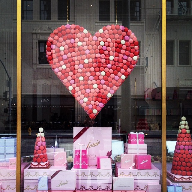 Bottega Louie Valentine's Day Display