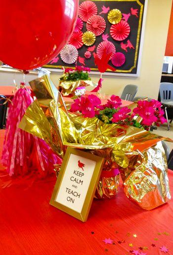 BunnyCakes // Teacher Appreciation Week Decorations