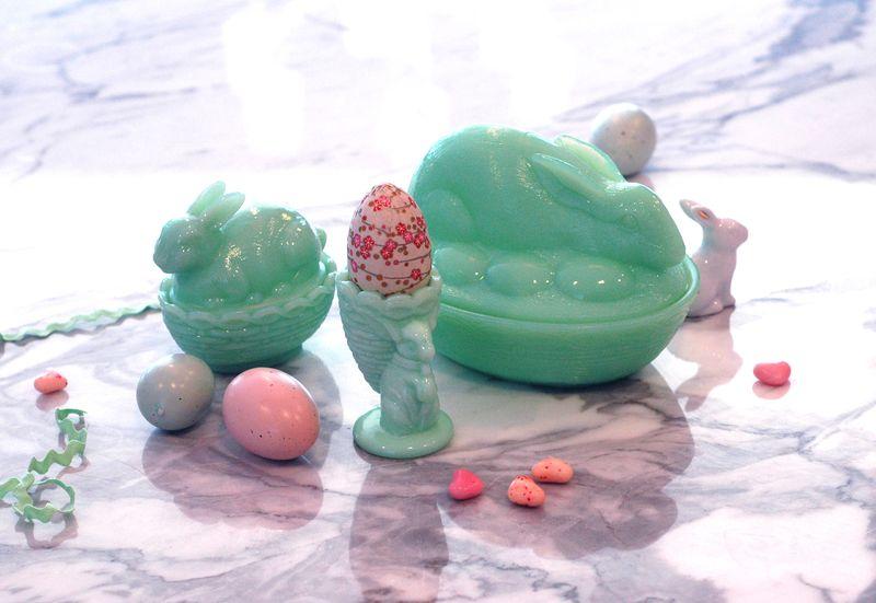 Jadeite Bunny Collection // BunnyCakes