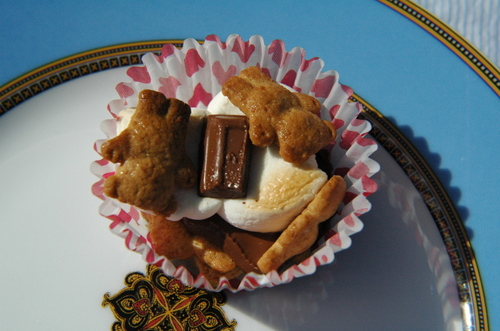 Teddy Graham S'Mores