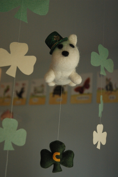 St. Patrick's Day Ceiling Love