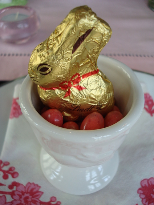 Egg Cup with Bunny
