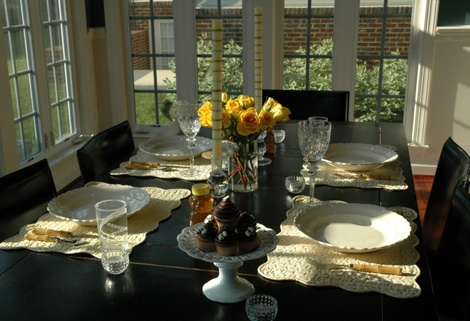 Father's Day Table Setting