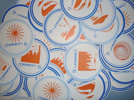 Mission 6 Stickers
