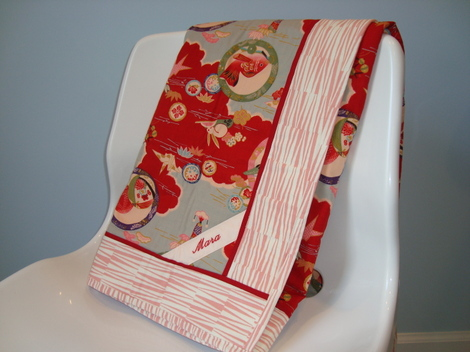 Asian Baby Girl Quilt