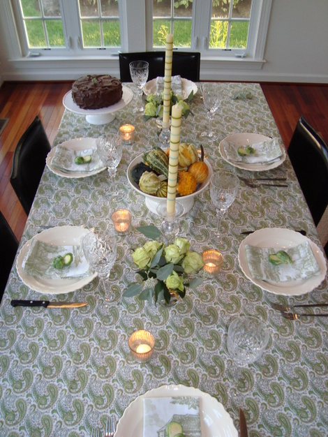 Early Autumn Table